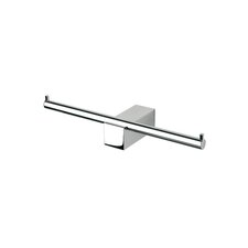 Nexx Double Toilet Paper Holder in Chrome