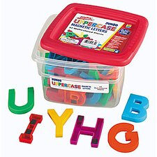 Jumbo Uppercase AlphaMagnets - Multicolored