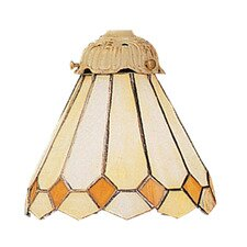 Mix-N-Match Glass Shade in White
