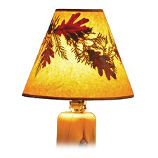Hickory Foliage Lamp Shade