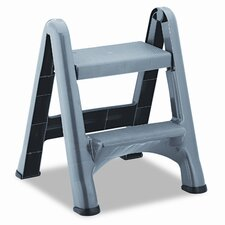 Commercial 2-Step Folding Plastic Step Stool