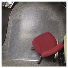 All PileMat High Pile Carpet Beveled Edge Chair Mat