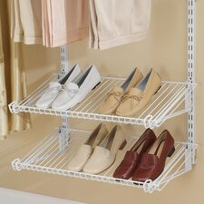 Configurations Closet Shoe Shelves