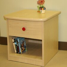 Sierra 1 Drawer Nightstand