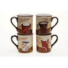 Cup Of Joe 16 oz. Mug (Set of 4)