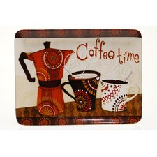 "Cup Of Joe 16"" Rectangular Platter"