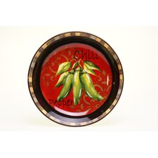 "Chili Pepper 13"" Pasta/Serving Bowl"