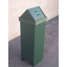 Swing Top 15 - 22 Gallon New England Trash Receptacle