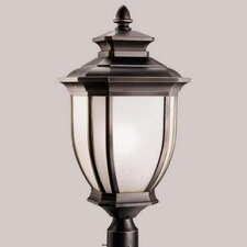 "Salisbury 1 Light 12"" Outdoor Post Lantern"