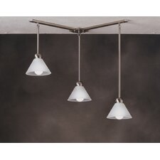 Mini Multi-Pendant Hanger in Brushed Nickel