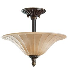 Cottage Grove 3 Light Semi Flush Mount