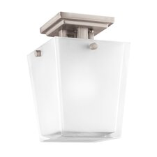Urban Ice 1 Light Semi Flush Mount