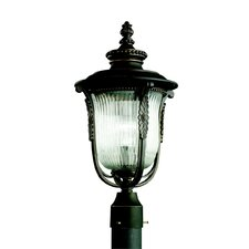 "Luverne 1 Light 11"" Outdoor Post Lantern"