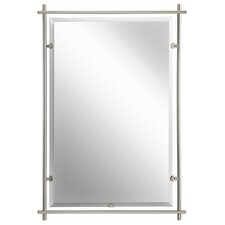 Eileen Gray Mirror in Brushed Nickel