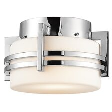 Pacific Edge 1 Light Outdoor Flush Mount
