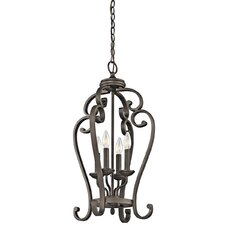 Monroe 4 Light Foyer Cage