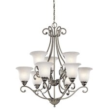 Camerena 9 Light Chandelier