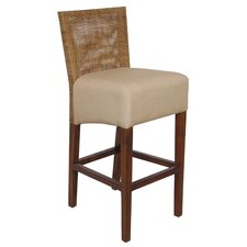 Karyn Barstool in Medium Antique Brown