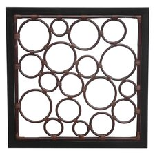Roma Multi Circle Design Wall Deco