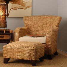 Havanna Club Chair and Ottoman