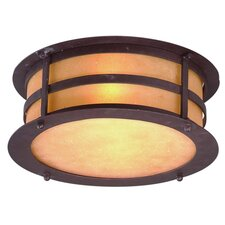 Aspen 2 Light Flush Mount