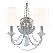 Fountainbleau 2 Light Wall Sconce