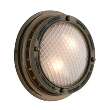 Norfolk 2 Light Outdoor Wall Light