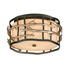 Adirondack 2 Light Flush Mount