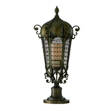 Tangiers 1 Light Outdoor Post Lantern