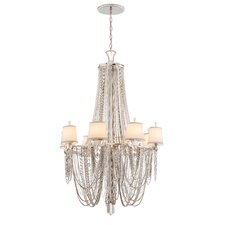 Flirt 8 Light Crystal Chandelier