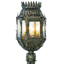 "Montrachet 4 Light 10"" Outdoor Post Lantern"