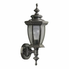 Baltic 1 Light Uplight Outdoor Wall Lantern