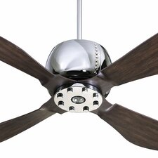 "52"" Elica 4 Blade Ceiling Fan with Remote"