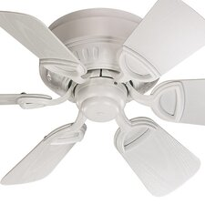 "30"" Medallion 6 Blade Patio Ceiling Fan"