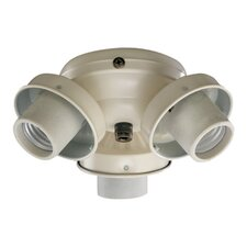 Three Light Ceiling Fan Light Kit