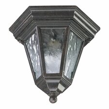 Baltic 1 Light Cast Flush Mount