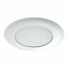 "8""  Plastic Recessed Lighting Trim in White"