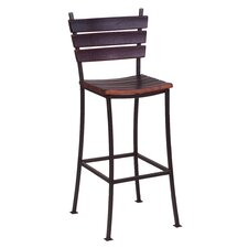"Stave 24"" Back Bar Stool"