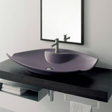 Kong Above Counter Single Hole Bathroom Sink