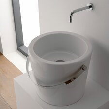Bucket Bathroom Sink