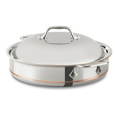 Copper-Core 3-qt. Saute Pan with Lid