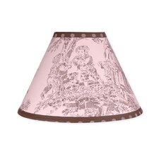 Pink and Brown Toile Collection Lamp Shade