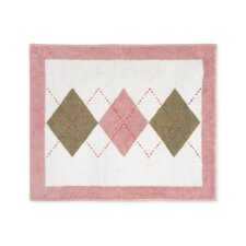 Argyle Pink Cocoa Collection Floor Rug