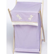 Purple Dragonfly Dreams Laundry Hamper