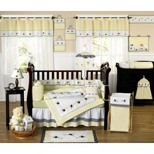 Bumble Bee 9 Piece Crib Bedding Collection