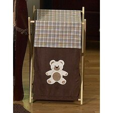 Teddy Bear Pink Laundry Hamper