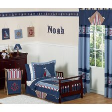 Nautical Nights 5 Piece Toddler Bedding Collection