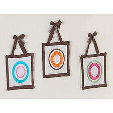 Deco Dot Collection Wall Hangings (Set of 3)