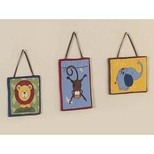 Jungle Time Collection Wall Hangings