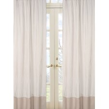 Lamb Cotton Rod Pocket Curtain Panel Pair with Valances